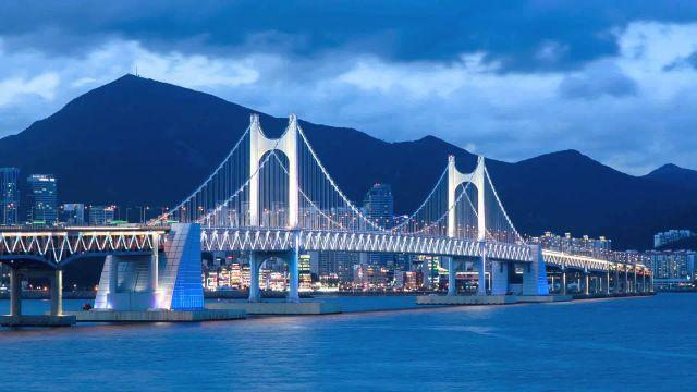 Южнокорейская жемчужина - город Пусан